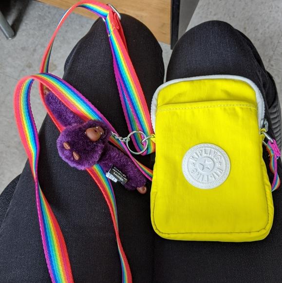 Crossbody pride themed Kipling bag